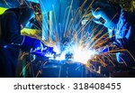welder industrial  automotive... | Shutterstock . vector #318408455