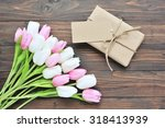 handmade gift boxes and card...   Shutterstock . vector #318413939