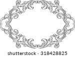 the acanthus art  nice... | Shutterstock .eps vector #318428825