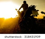 drive motorcycles leisure at... | Shutterstock . vector #318431939