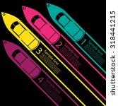 race boat infographics | Shutterstock .eps vector #318441215