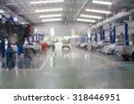 car repair service center... | Shutterstock . vector #318446951
