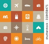 travel icons universal set for... | Shutterstock . vector #318458471