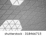 Triangular Pattern Ceiling