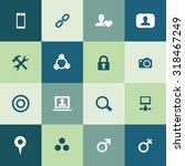 social media icons universal... | Shutterstock . vector #318467249