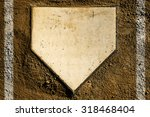 Baseball Home Plate With Dirt...