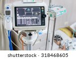 health care portable monitoring ... | Shutterstock . vector #318468605