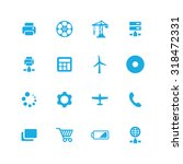 technology icons universal set... | Shutterstock . vector #318472331