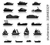 Ship Boat Icons