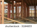 building of a new house during... | Shutterstock . vector #3184855
