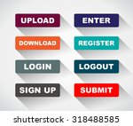 web ui icon elements  login ...
