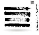 brush stroke and texture.... | Shutterstock .eps vector #318488705
