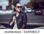 female beauty concept. portrait ...   Shutterstock . vector #318508217