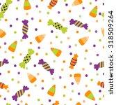 a vector illustration seamless... | Shutterstock .eps vector #318509264