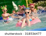 portrait of children on the... | Shutterstock . vector #318536477