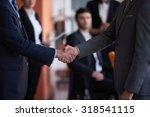 business partners  partnership... | Shutterstock . vector #318541115