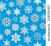 christmas seamless pattern with ... | Shutterstock .eps vector #318550307