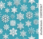 christmas seamless pattern with ... | Shutterstock .eps vector #318550367