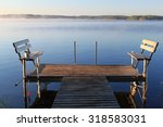 private fishing deck | Shutterstock . vector #318583031
