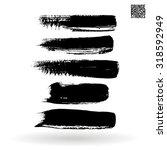 brush stroke and texture.... | Shutterstock .eps vector #318592949