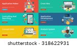 web   development | Shutterstock .eps vector #318622931