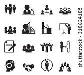 business idea concept icons | Shutterstock .eps vector #318624185