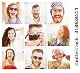 friends friendship portrait... | Shutterstock . vector #318636251