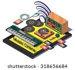 illustration of info graphic...   Shutterstock .eps vector #318656684