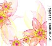 beautiful flowers romantic ... | Shutterstock . vector #31865834