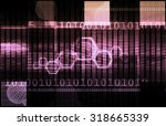 application architecture and... | Shutterstock . vector #318665339