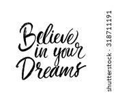 Believe In Your Dreams Card....
