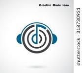 creative abstract musical...   Shutterstock .eps vector #318730931