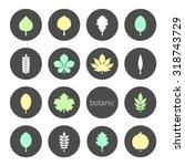 vector illustration  set of...   Shutterstock .eps vector #318743729