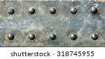 metal texture. grunge... | Shutterstock . vector #318745955