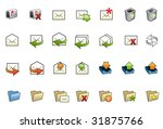illustrated collection of... | Shutterstock .eps vector #31875766