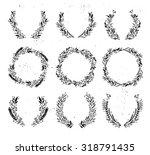 hand drawn vector illustration  ... | Shutterstock .eps vector #318791435