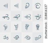 illustration vector of wind... | Shutterstock .eps vector #318816137
