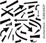 arrows set | Shutterstock .eps vector #318826829
