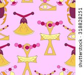 seamless pattern with modern... | Shutterstock .eps vector #318828251