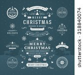 Christmas Decorations Vector...