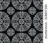 dark diamond seamless pattern.... | Shutterstock .eps vector #318847184