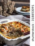 casserole of eggplant and...