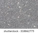 silver glitter background    Shutterstock . vector #318862775