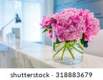 reception interior with... | Shutterstock . vector #318883679