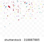 abstract background with many... | Shutterstock .eps vector #318887885