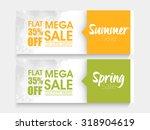 creative website header or... | Shutterstock .eps vector #318904619