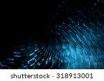 digital technology abstract... | Shutterstock . vector #318913001
