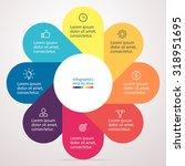 infographics  chart  graph ... | Shutterstock .eps vector #318951695
