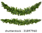 Christmas Garlands  Curved And...