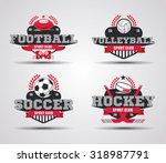 vector illustration of examples ... | Shutterstock .eps vector #318987791